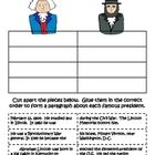 This is an activity where students have to put back together two paragraphs about President Washington and President Lincoln. I use it to help deve...