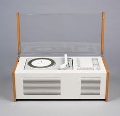 The Braun SK4, designed by Dieter Rams in 1956 and nicknamed 'Snow White's Coffin'.