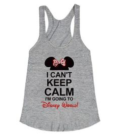 I can't keep calm I'm going to Disney World with Minnie hat