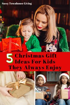 Shopping for the holidays isn't always easy, especially when it comes to Christmas gift ideas for kids. We have 5 foolproof ideas they will always enjoy! Popular Christmas Gifts, Kids Christmas, Merry Christmas, Slime Kit, Fun Board Games, Christmas Shopping, Christmas Markets, Wine Gifts, Quality Time