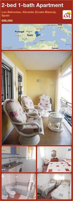 2-bed 1-bath Apartment in Los Balcones, Alicante (Costa Blanca), Spain ►€86,000 #PropertyForSaleInSpain