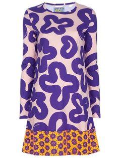 WALT BY WALTER VAN BEIRENDONCK VINTAGE Flower Print Dress