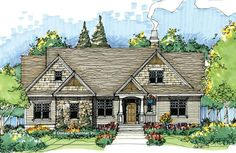 The Thistlewood House Plan