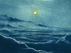 1937 Soleil vu de Saturne, Planètes,  Système solaire, Astronomie, Illustration Vintage,  Sciences, Ciel de la boutique sofrenchvintage sur Etsy