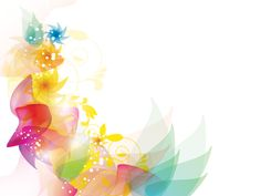 Colorful Floral powerpoint template is a great abstract background design with colored floral effects on the light background that has a white ground and if you wish, you can put your content and images inside the slide design. Powerpoint Background Design, Background Templates, Lights Background, Background Images, Boarder Designs, Eid Crafts, Borders And Frames, Slide Design, Power Points