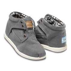 Toms tiny canvas boot