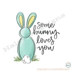 Cotton Painting, Bunny Painting, Easter Peeps, Easter Art, Nativity Painting, Some Bunny Loves You, Paint Your Own Pottery, Color Quotes, Rabbit Art