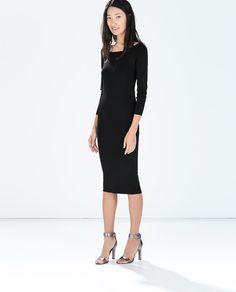 ZARA - WOMAN - DRESS WITH BACK KNOT/229