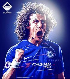 Chelsea Man City, Chelsea Fc, Football Art, Freelance Graphic Design, Yokohama, Premier League, Blues, Soccer, Illustrations
