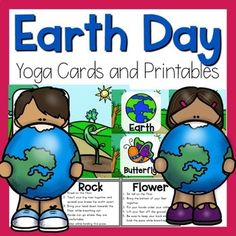 Earth Day yoga pose ideas are a great way to celebrate Earth Day! Pose like a sprout or the earth! Make movement a part of Earth Day! Physical Education, Special Education, All Yoga Poses, Animal Yoga, Eco Friendly Cleaning Products, Breath In Breath Out, Yoga For Kids, Yoga Sequences, Save The Planet