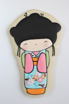 Continuing with the Around the World cookie theme, we're travelling to Japan with these Kokeshi cookies. But first, a little bit about a new section on Sweetopia, the FAQs. I often get questions about decorating cookies; Fancy Cookies, Iced Cookies, Biscuit Cookies, Cute Cookies, Royal Icing Cookies, Cupcake Cookies, Sugar Cookies, Baking Cookies, Cookies Decorados