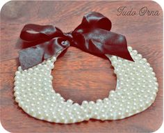 Pearl Necklace - DIY