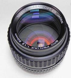 Pentax SMC 50mm f1.2 K Lens