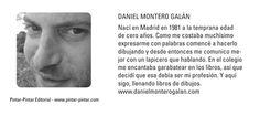 """DANIEL MONTERO GALÁN  """"El caimán azul"""""""