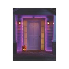 Philips Flat Rope Lights Purple - 15ft ($14) ❤ liked on Polyvore featuring home, home decor, holiday decorations, halloween wreath, purple home decor, halloween home decor, harvest wreath and purple home accessories