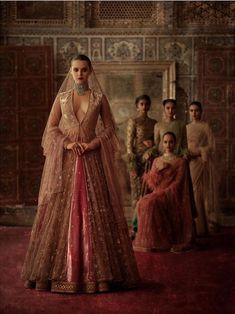 2019 Sabyasachi Charbagh Bridal Lehenga Collection - Frugal2Fab Sabyasachi Collection, Bridal Lehenga Collection, Indian Bridal Fashion, Indian Bridal Wear, Indian Wear, Ritu Kumar, Anita Dongre, Indian Dresses, Indian Outfits