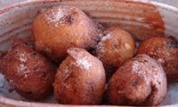 Pumpkin Fritters for Mardi Gras in Germany: Fasching Fritters with Pumpkin