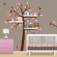 painted_pink_tree_bookshelf
