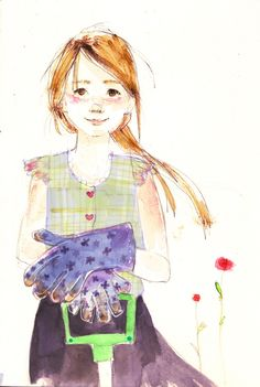 Grandma's Gloves - illustrated by Julia Denos