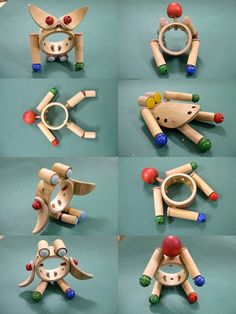 toys in bamboo on Behance