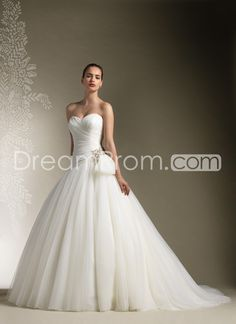 Brilliant Ball Gown Sweetheart Floor-Length Chapel Beaded Wedding Dresses with Removable Capped-Sleeve