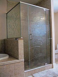 Bathroom Shower door