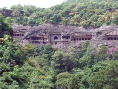 Ajunta caves in India