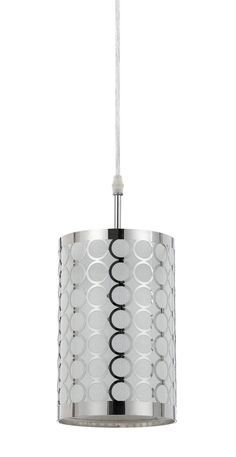 Buy the Cal Lighting Chrome Direct. Shop for the Cal Lighting Chrome Madrid Single Light Pendant and save. Track Lighting Fixtures, Dining Lighting, Pendant Light Fixtures, Cool Lighting, Pendant Lighting, Plug In Pendant Light, Drum Pendant, Chandelier Ceiling Lights
