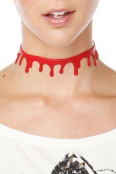 Blood Choker Necklace
