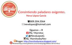 Información sobre nosotros Hornitos By Neva