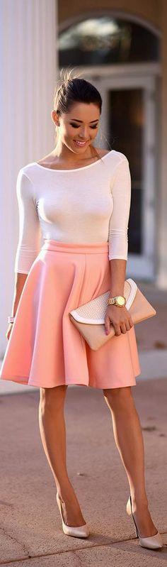Peaches n Cream / Fashion By Hapa Time