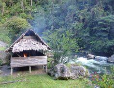 Campsite along the Kokoda Track