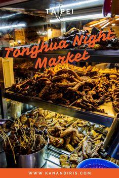 Tonghua Night Market: Taipei's Most Underrated Night Market - Kan & Iris Taiwan Night Market, Fried Clams, Pork Buns, Teppanyaki, Fried Pork, Best Places To Eat, Taipei, Pulled Pork