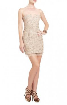 2013 new style of BCBG ABIGAIL EMBROIDERED COCKTAIL DRESS -CHAMPAGNE on sale. Cocktail dresses, evening gowns, short dress, runway dresses are with discount here.