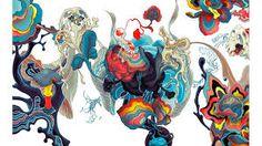 「james jean painting」の画像検索結果