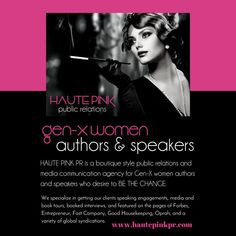 I'm so excited to announce some incredible new services features and support provided by Haute Pink PR!  Get booked (and paid) speaking gigs interviews on podcasts livestreams TV (online and traditional) shows. One off 90 min PR & Media Strategy Consultations Virtual book tours live book signing events and so much more!  Everything you do from a tweet to a status update is some form of public relations and media communication for you and your business.  I'd love to know what stage you want…
