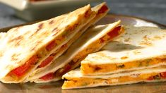Cheese and Pepper Quesadillas Epicure Fajita Seasoning Lunch Box Recipes, Quick Dinner Recipes, Fish Recipes, Seafood Recipes, Appetizer Recipes, Appetizers, Quesadillas, Kids Meals, Easy Meals