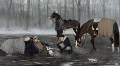 Steinadler by Zoubstance on DeviantArt Spirit And Rain, Horse Age, Horse Animation, Horse Artwork, Horse Drawings, My Demons, Equine Art, Horseback Riding, Beautiful Horses