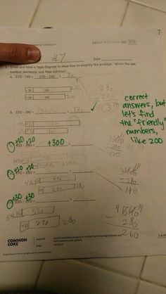 common core question