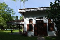 Villa Sepalika  - Porte du hall d'entrée