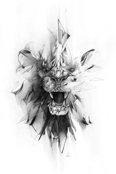 Stone Lion #beautytatoos