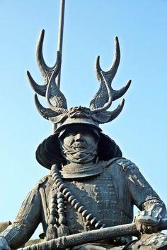 Statue of Honda Tadakatsu Samurai Helmet, Samurai Warrior, Japanese History, Japanese Culture, Tokugawa Ieyasu, The Last Samurai, Cherry Blossom Japan, Kendo, Martial Arts