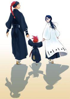 Rukia, Ichika y Renji Abarai