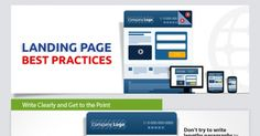 Liked on Pinterest: Landing Page Best Practices: How to Design the Perfect Landing Page #infographic visit my blog http://ift.tt/1oxJDem
