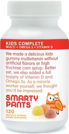 SmartyPants Vitamins Gummy Vitamins with Omega 3 Fish Oil and Vitamin D, 120 Count SmartyPants Gummy Vitamins,http://www.amazon.com/dp/B004QQ9LVS/ref=cm_sw_r_pi_dp_C2gjtb03YJHP4XSN