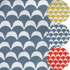 STAMPED-FABRIC-COLLECTION : ellen lucket baker has created a new fabric collection for japanese company kokka