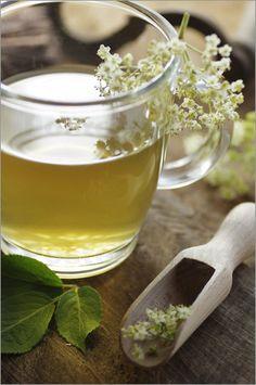 """Bild von Tanja Riedel - """"Holunderblüten Tee"""""""