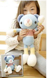Crochet Amigurumi Free Pattern teddy bear