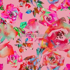 Pink on Pink by Sofia Perina-Miller on Patternbank