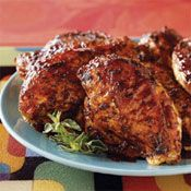 Honey Bourbon Barbecue Chicken Breasts Recipe at Cooking.com